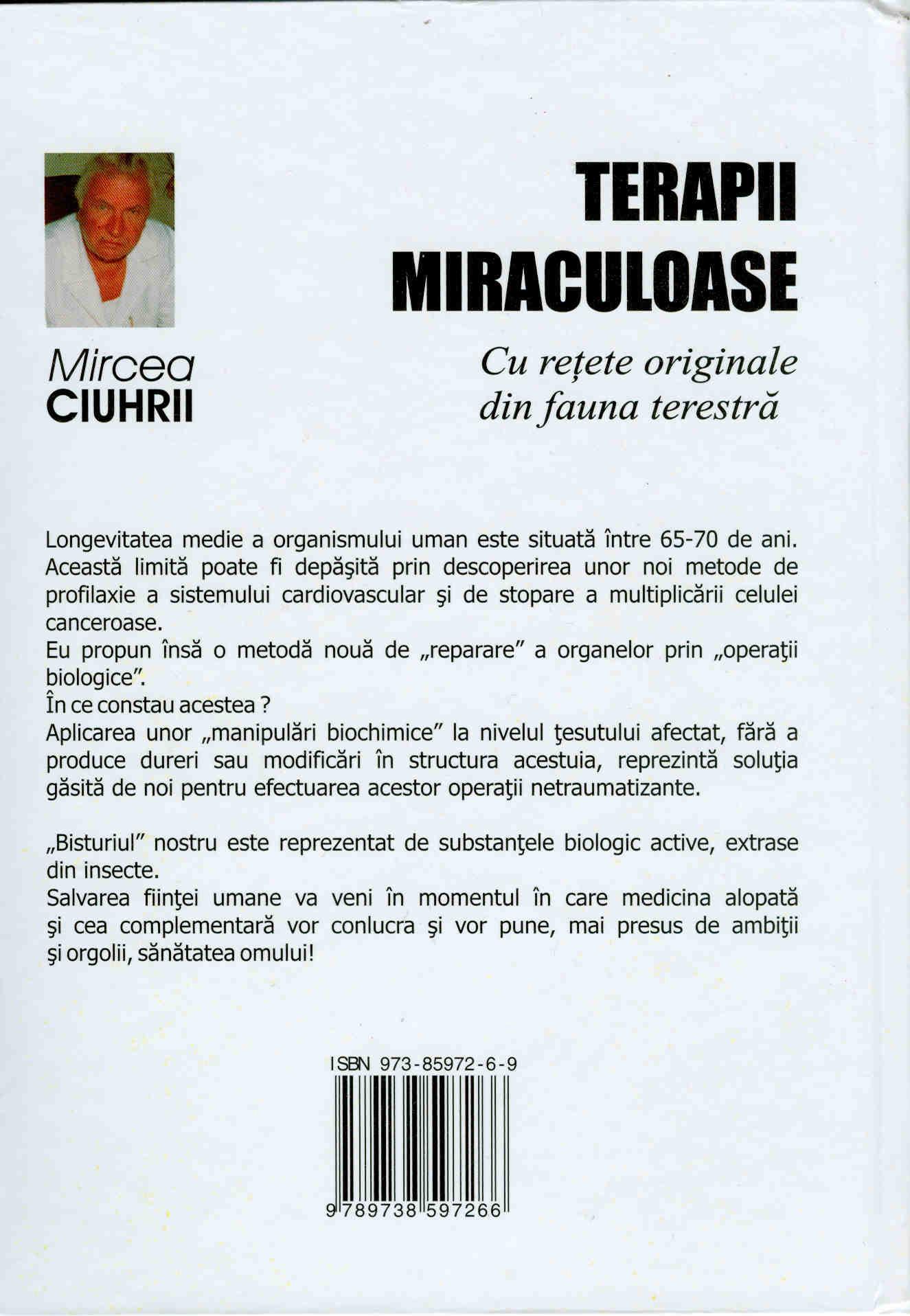 Terapii Miraculoase Verso